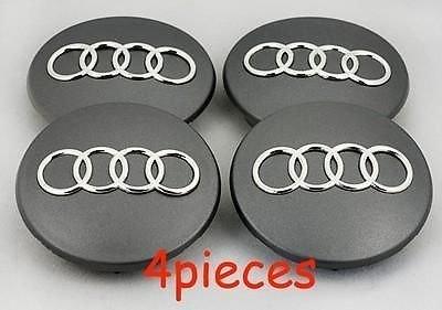 4X Audi A4 A6 S4 S6 A8 S8 Q7 Wheel Center Hub Cap 68mm 8D0601170
