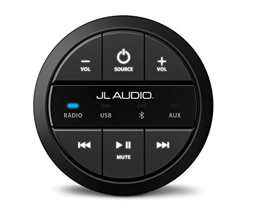 JL Audio MMR-20-BE Round Wired Non-Display Remote Controller for MediaMaster by JL AUDIO