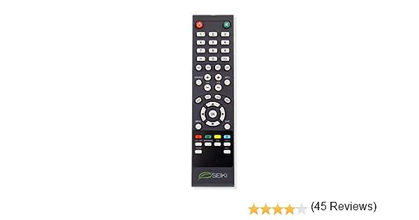 Vinabty Mando a distancia de recambio para Smart TV Seiki LCD: Amazon.es: Electrónica