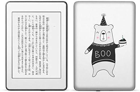 igsticker kindle paperwhite 第4世代 専用スキンシール キンドル ペーパーホワイト タブレット 電子書籍 裏表2枚セット カバー 保護 フィルム ステッカー 016050 くま 誕生日 かわいい
