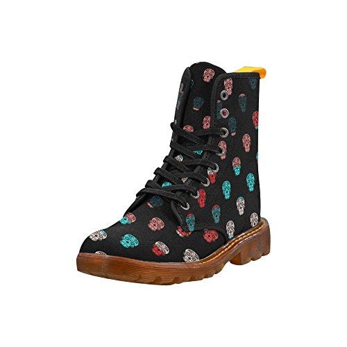 Learing Kleurenmix Skull Martin Boots Fashion Schoenen Voor Dames