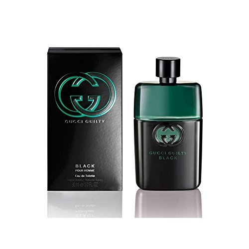 Gucci - Gucci Guilty para hombre Black EDT Vapo 90 ml - Gucci: Amazon.es: Ropa y accesorios