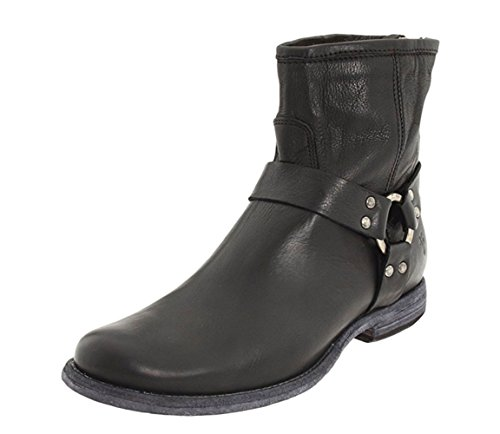 Round Toe Harness Boots - 2