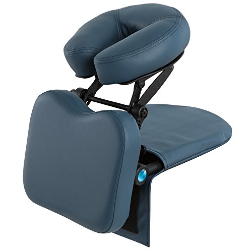 Back Set Upholstery (EARTHLITE Travelmate Massage Support System Package - Face Down Desk & Tabletop Massage Kit, Vitrectomy recovery equipment)