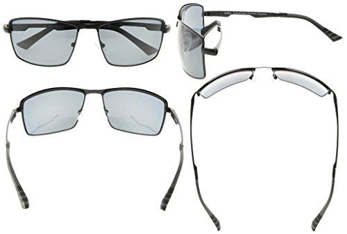 Eyekepper Lunettes de soleil Metal monture verres en Polycarbonate verres Polarisees  lunettes soleil pour hommes noir ... a1000716f697