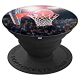 Hoop Swish Basketball Popsocket - PopSockets Grip and Stand for Phones and Tablets