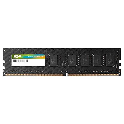 Silicon Power 16GB DDR4-2400(PC4-19200) 288Pin 1.2V CL17 Desktop Memory - SU016GBLFU240B02DI by Silicon Power (Image #1)