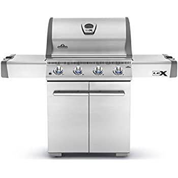 Napoleon Grills LEX485PSS-1 LEX485PSS1 Propane Gas Grill, Stainless Steel