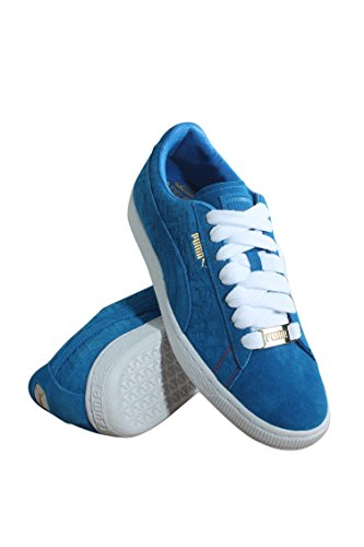 Puma 366298-01 Heren Suede Classic Paris Electric Blue Lemona