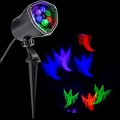 Strobing LightShow LED Chasing Ghost Strobe Multi-Color Spotlight Whirl-a-Motion