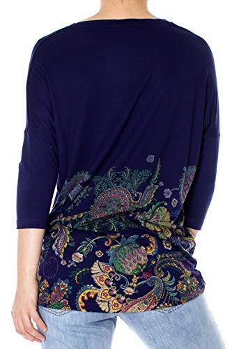 T Ts shirt Marino 19swtk895001s cassidy Desigual Blu d40gqxd