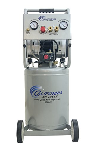 - California Air Tools 10020C Ultra Quiet Oil-Free and Powerful Air Compressor, 2 hp