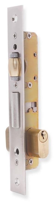 Lince 3017005 Cerradura 5551 Aluminio 14 mm, Niquelado