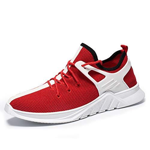 Men's NANXIEHO and Shoesdamping Shoes Winter Leisure Shoes Fashion Single Weaving Sport Light Autumn Flying Shoes Running Net Trend ZSwxrtqZ5
