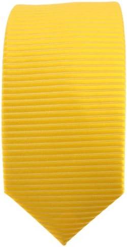 Proveedor Más Grande Comprar TigerTie - corbata estrecha - amarillo dorado sol amarillo monocromo-modelada OMdWTN GxvIDU