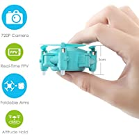 Hot Sale!RC Drone,Sunfei Mini Wifi 720P Camera Drone RC Quadcopter 2.4GHz 4CH 6-Axis Gyro 3D UFO FPV RC (Blue)