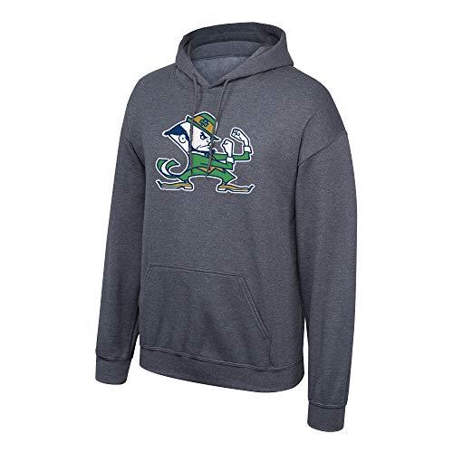 Notre Dame Irish (Top of the World NCAA Notre Dame Fighting Irish Male Dark Heather Icon Hoodie Sweatshirt, Notre Dame Fighting Irish Dark Heather,)