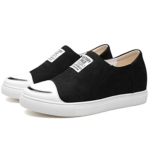 supply CHAMARIPA Elevator Shoes Mens Breathable Mesh Leather Sneakers Skate Shoes Height Increasing Shoes… Black03 2014 unisex for sale cheap sale buy release dates cheap online outlet latest collections neOK07j