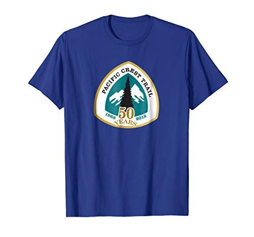 PCT 50th Anniversary Logo TShirt - Pacific Crest Trail Shirt