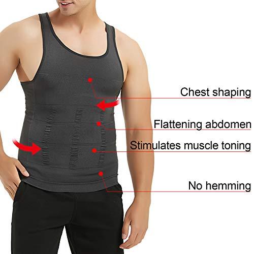 8c8872c8e4 ... TOPTIE Men Slimming Body Shaper Compression Shirt Shapewear Sculpting  Vest Muscle Tank Bulk Sale ...