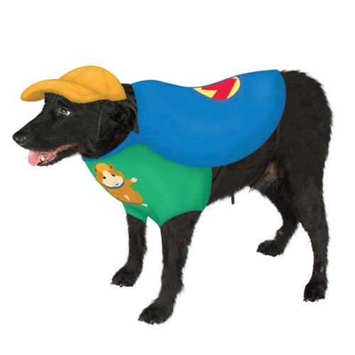 Guinea Pig Dog Costume (Rubie's Linny the Guinea Pig Pet Costume - Medium)