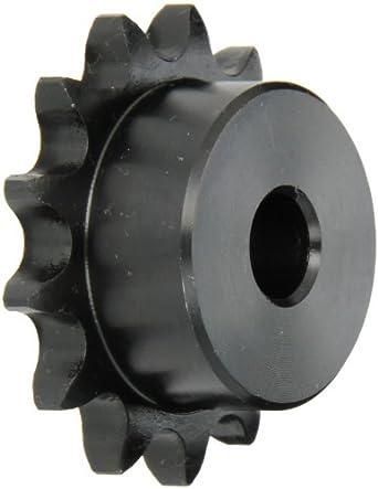 Steel Browning 40B13 Minimum Bore Roller Chain Sprocket 13 Teeth Single Strand 1//2 Stocked Bore