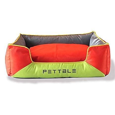 M19XHigh End Pet Pet Pad de Gama Alta de camada camada Pad Dos Color Oxford Cat Litter pequeño Teddy Perro camada,Naranja s: Amazon.es: Productos para ...