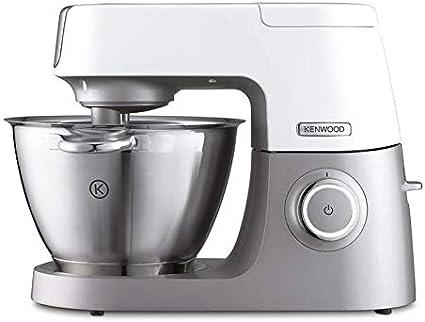 Kenwood Chef Sense KVC5010T Robot de cocina, 1100 W, capacidad de 4.6 L, acero inoxidable, color blanco y plata: Amazon.es: Hogar