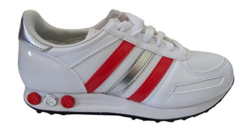 Why adidas LA Sneakers V22008 Trainer Womens Metsil Poppy Originals Trainers Shoes w1wr0