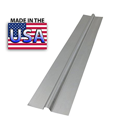 4 Ft - 1/2'' PEX Aluminum Heat Transfer Plates, (100/box) for Radiant Heating (HP-4) by PEX GUY by PEX GUY (Image #1)