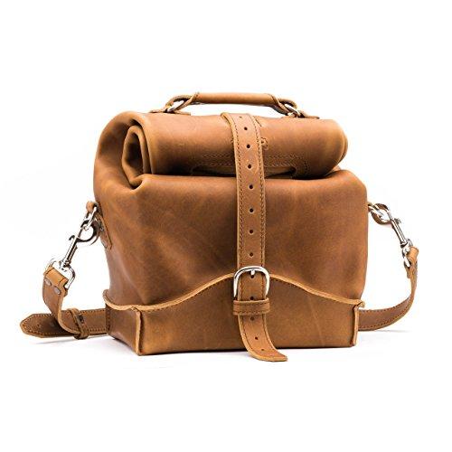 Saddleback Leather Overnight Bag - Full Grain Leather Carry On for Men and Women