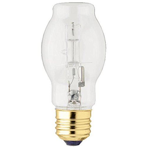 Westinghouse Lighting 0501300 43 Watt BT15 Halogen Clear Light Bulb with Medium Base