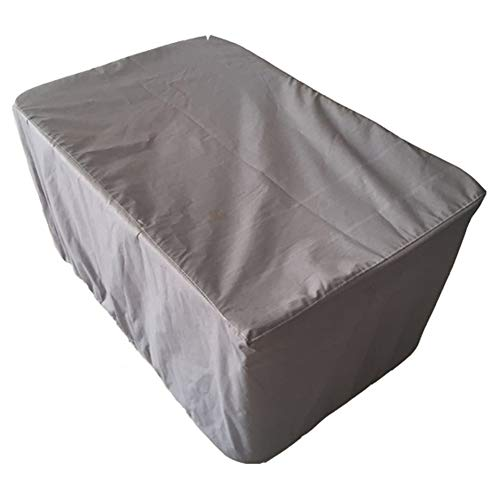 (YI GAO Dust Cover - Outdoor Furniture Dust Cover Forest Garden Table and Chair Sunscreen Rainproof Gray Polyester Fabric (12 Size Selection) @ (Size : 200x160x70cm))