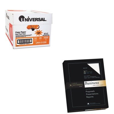 KITSOU13CUNV21200 - Value Kit - Southworth 100% Cotton Business Paper (SOU13C) and Universal Copy Paper (UNV21200)