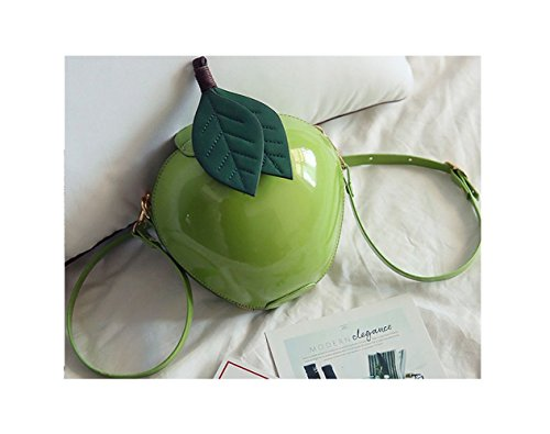 Shi xiaoshu - Bolso estilo cartera para mujer Verde