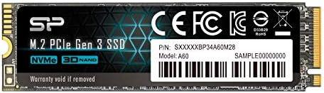 Silicon Power 256GB SP256GBP34A60M28 NVMe M.2 PCIe Gen3x4 2280 TLC ...