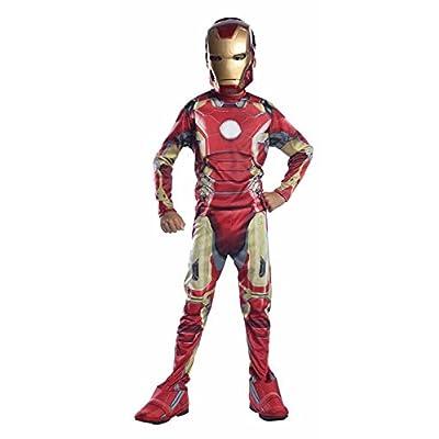 Marvel I-610436s - Déguisement Pour Enfant - Classique Iron Man Mark 43 - Avengers 2 - Taille S