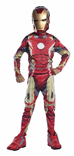 Superhero Costume Your Make Own Easy (Rubie's Costume Avengers 2 Age of Ultron Child's Iron Man Mark 43 Costume,)
