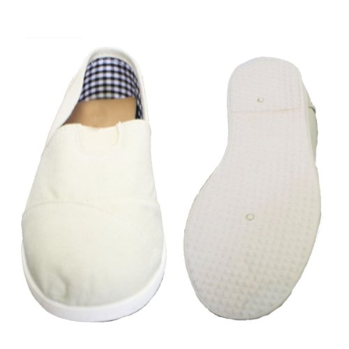 Slip On Beige Canvas Donna Dona Michi