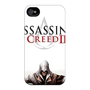 Durable Hard Cell-phone Cases For Apple Iphone 4/4s (nBt3472KteD) Custom Stylish Assassins Creed 2 Image