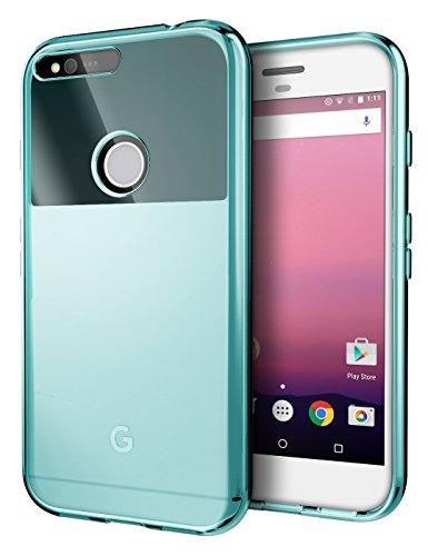 Google Pixel XL Case, Cimo [Grip] Premium Slim Protective Cover Google Pixel XL (2016) - Blue