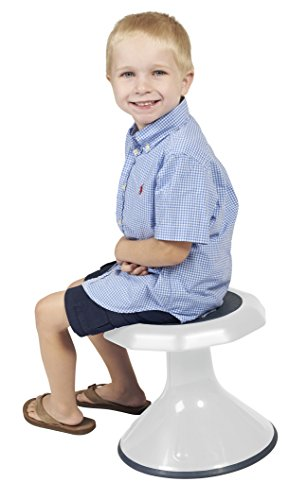 ECR4Kids ACE Active Core Engagement Wobble Stool for Kids, Flexible Classroom and Home Seating, 12