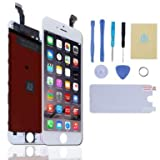 DBPOWER For iPhone 6 4.7inch Screen Digitizer + LCD Display Assembly Replacement (White)