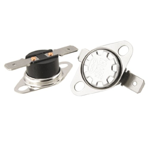 uxcell KSD301 250V 10A Thermostat Temperature Control Switch 135 Celsius N.C 5 Pcs