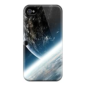 New Shockproof Protection Case Cover For Iphone 4/4s/ Earth Surface Hd Case Cover