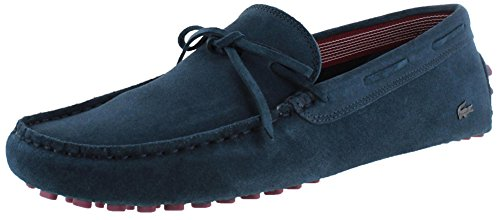 Lacoste Concours Men's Loafers Slip On Driving Moccasins Blue Sz 9.5