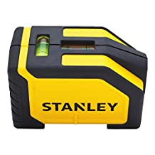 STANLEY STHT77148 Manual Wall Laser Level, Yellow