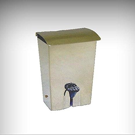 Amazon Com Dollhouse Miniature Working Metal Flip Top Trash Can