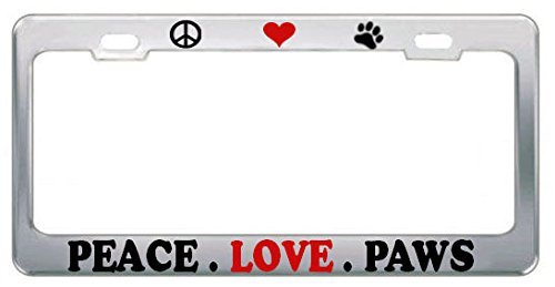 License Plate Covers & Frames Funny Watermelon Car Chrome License Cover Border Frames New Plate Tag Sign for Men Women License Plate Covers & Frames
