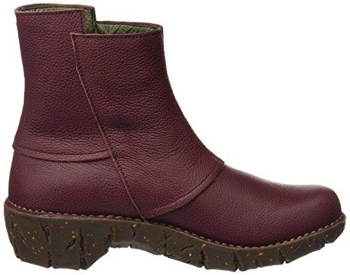 Red Soft Ankle Boots Varies Rioja Rioja Yggdrasil Ne28 El Brown WoMen Naturalista Grain HY4nfvx